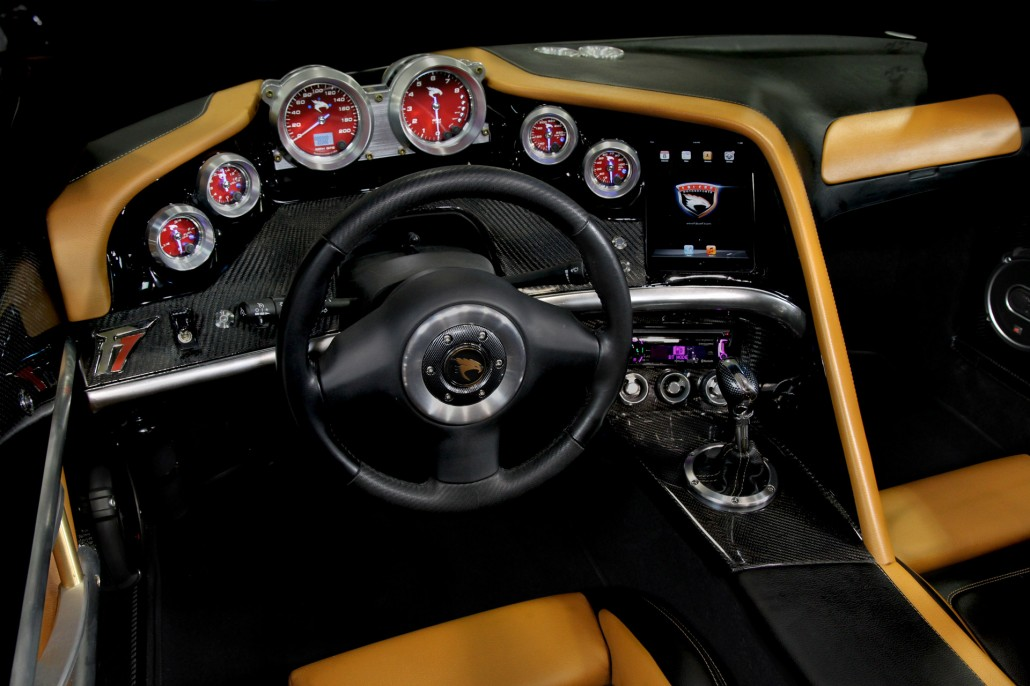 Falcon F7 Brakes Interior - Dashboard.