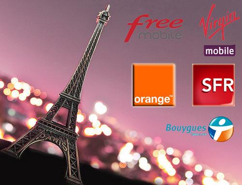 法国电信运营商和手机套餐介绍
