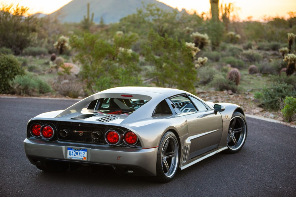 The Falcon F7 Rear - Looks like a Ferrari, Ford GT, and Fighter Jet.